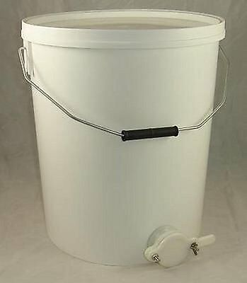 HONEY SETTLING TANK / BUCKET WITH VALVE - 25L - BEEKEEPING - HONEY EXTRACTION