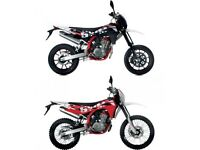 SWM ENDURO & SUPERMOTO 125CC, NEW, FINANCE AVAILABLE,2 YEAR WARRANTY