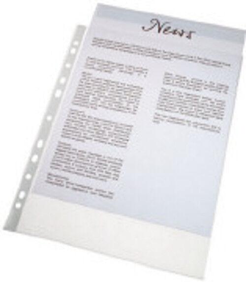 Cartellette porta documenti DIN A4 120mic,aprire la parte superiore,mit