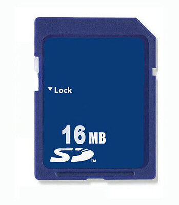 16MB SD Memory Card Standard Secure Digital Generic New W/Case Free Shipping