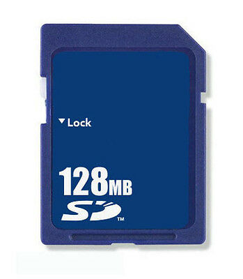 128MB SD Memory Card Standard Secure Digital Generic New W/Case Free Shipping