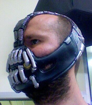 Bane Batman Deluxe Dunkler Ritter Rises Halloween Joker Kostüm Maske