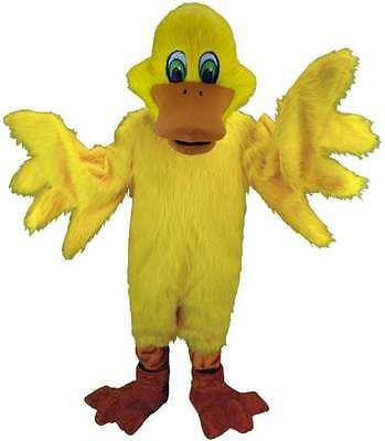 Duck Costume Adults (Yellow Duck Professional Quality Lightweight Mascot Costume Adult)