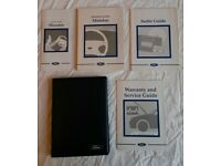 Ford Mondeo Handbook in wallet £10 ono including Audio guide & other booklets. Excellent condition