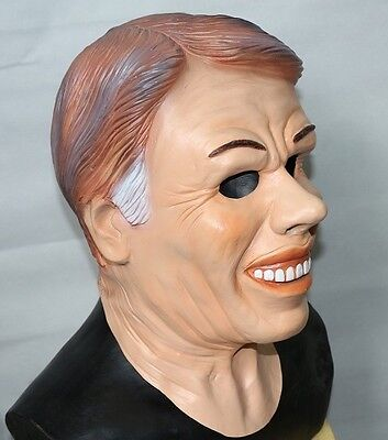 Jimmy Carter Maske Dead Ex Präsidenten Latex Halloween Kostüm Point Break
