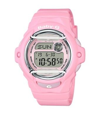 Casio Baby-G BG169G-4CCR Whale Series Women's Blooming Pink Resin Digital Watch
