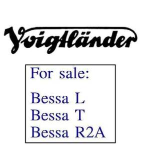 Voigtlander Bessa cameras for sale *New / Mint in boxes* SEE LIST Sydney City Inner Sydney Preview