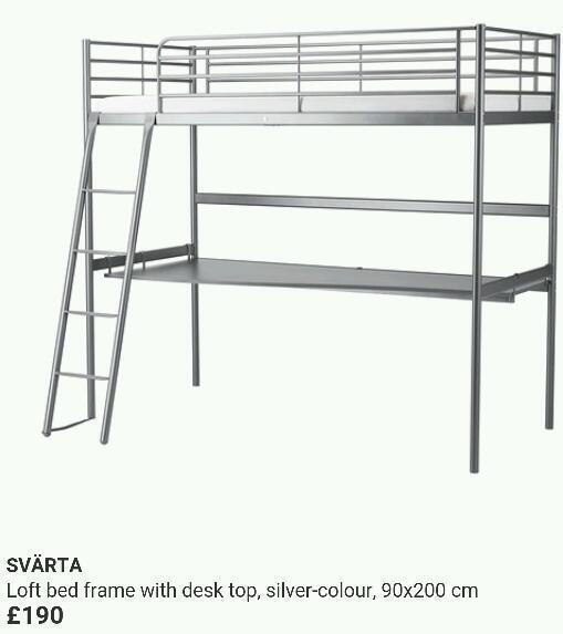 Bunk Desk Bed Ikea