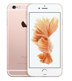 iPHONE 6S Plus 128GB, SHOP RECEIPT & WARRANTY, GOOD CONDITION, ROSE GOLD