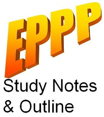 EPPP Study Notes & Outline - All 11 Topics Included!
