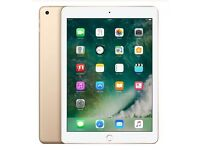 Apple iPad New 2017 Model Gold 32gb O2 Network WiFi And Cellular