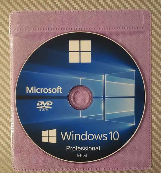Windows 10 Pro 64-bit full installation DVD Upgrade from 7 8 July 2020 version