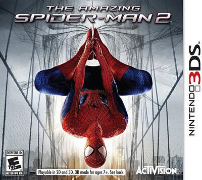 Amazing Spider-Man 2 3DS New Nintendo 3DS, Nintendo 3DS
