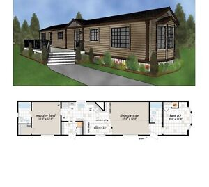 Modular home MUST BE MOVED $65,000