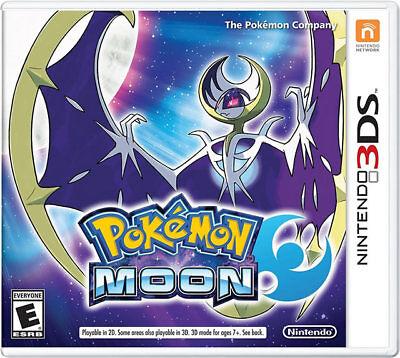 Pokemon Moon 3ds Nintendo 3ds, Nintendo 3ds