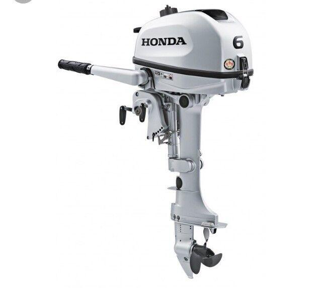 Honda 4 stroke 6hp outboard | in Liverpool, Merseyside | Gumtree