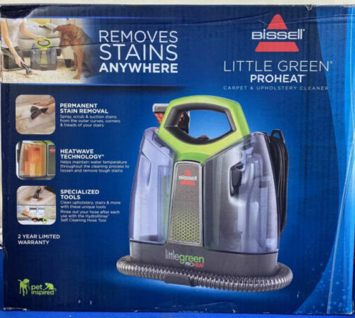 New BISSELL Little Green ProHeat Carpet Cleaning Machine 2513G