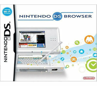 Nintendo Ds Lite Browser Nds  New