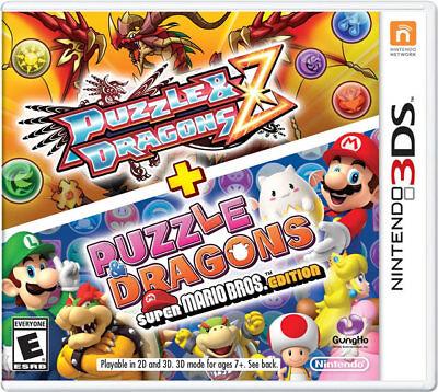 Puzzle Dragons Z & Puzzle Dragons Super Mario Ed. 3ds Nin...