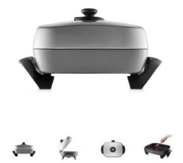 Sunbeam family banquet electric frypan