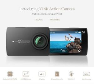 YI 4K Action Camera and waterproof case