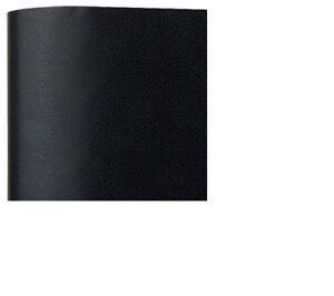 Faux Black Leather Fine Grain Vinyl Contact Paper Drawer Liner 18