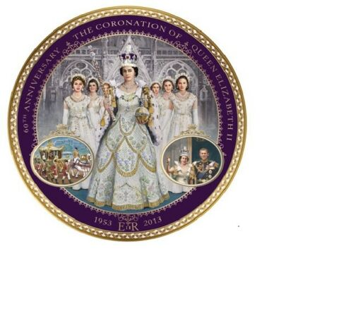 CORONATION OF QUEEN ELIZABETH ROYAL 30CM COLLECTOR PLATE Queen of Australia