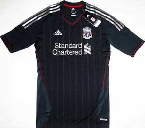 11-12-Liverpool-Away-TECHFIT-Player-Issue-Football-Shirt-Soccer-Jersey-Top-Kit