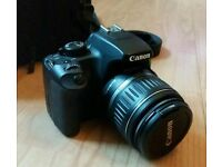 Canon EOS 1000D Digital SLR 10.1MP camera with 18-55mm lens - great starter DSLR