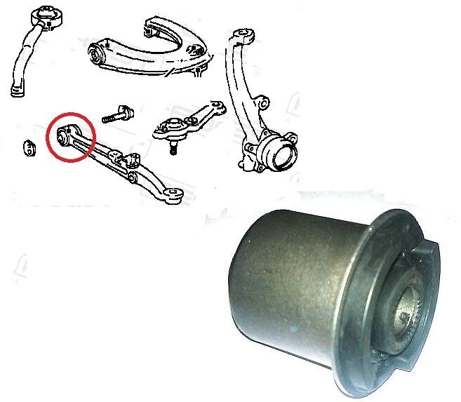 FRONT LOWER WISHBONE ARM FRONT BUSH FOR LEXUS IS200 IS300 TOYOTA ALTEZZA CROWN