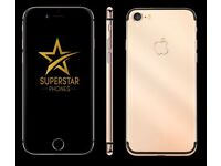 iPhone 6 6S 7 - LOOK - Limited Offer - Gold Plate your iPhone with YOUR name or logo today!!!