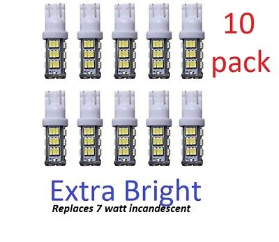 10-pack 12V AC/DC LED bulb for Malibu landscape lighting WARM WHITE T10-T15 -HQ