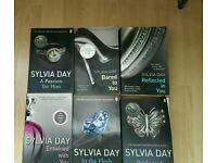 Collection of sylvia day book