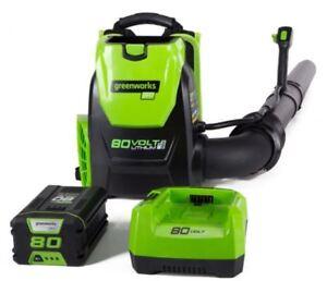 *Brand NEW* -GREENWORKS Backpack Leaf Blower 80V - Electric