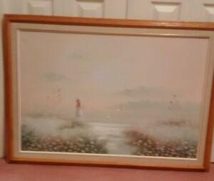 Oak Framed Pictures for Sale - 2