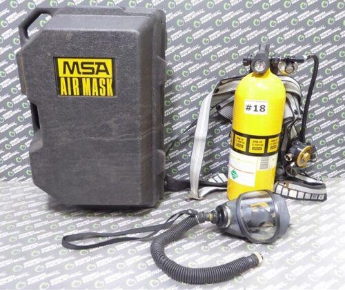 USED MSA Ultralite II Low Pressure SCBA Mask, Harness, Regulator and Tank