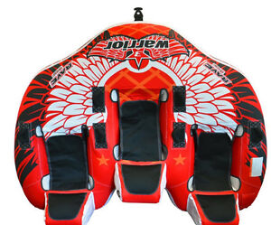 3 person towable boat tube