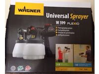 Brand new in a box Wagner paint sprayer W599 RRP £209.98