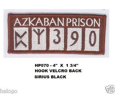 HARRY POTTER SIRIUS BLACK AZKABAN VEL-KRO PATCH - HP070