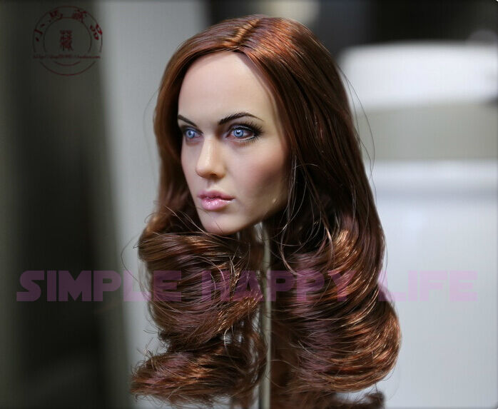 Smith Head Sculpt For Hot Toys Phicen Female Figure USA 1//6 Angelina Jolie Mrs