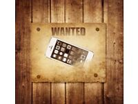 Wanted Iphones with cracked screens or other issues