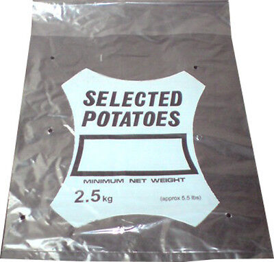 1000x Potato Spud Bags Sacks 2.5kg 10x15.5