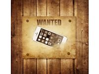 Wanted broken or damaged screen iphones...best prices paid in town
