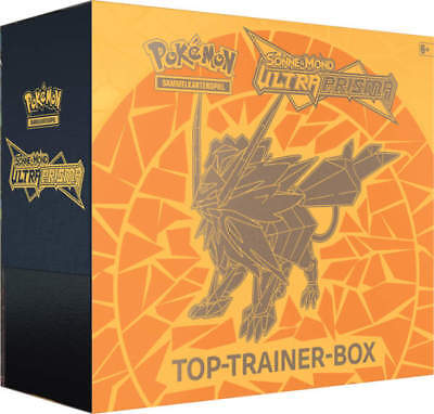Pokemon - Ultra-Prisma Top-Trainer Box ORANGE - Deutsch