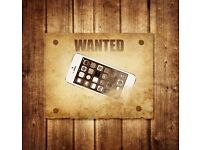 Wanted iphones with cracked screens or other issues..cash waiting