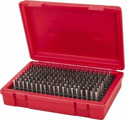 Value Collection 190 Piece 0.061-0.25 Inch Diameter Plug And Pin Gage Set Pl...