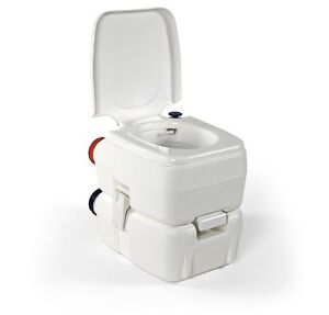 Bi pot 39 camping wc bipot fiamma portable toilet water tank garden house 39 ebay for Portable watering tanks for gardens