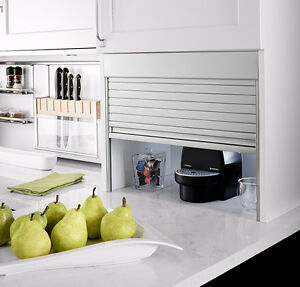 NEW: HAFELE KITCHEN CABINET APPLIANCE GARAGES (2)
