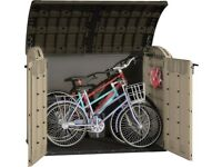 NEW KETER STORE-IT-OUT ULTRA IDEAL FOR BIKES FREE DELIVERY + ASSEMBLY EDINBURGH WEST LOTHIAN