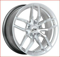 Roues (Mags) DAI Werks hyper argent 17 pouces  5-114.3